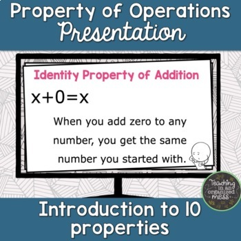 Properties of Operations Lesson Powerpoint