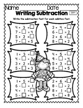 New Years 2019 Math Properties of Operations Mega Practice Winter 1.OA.4