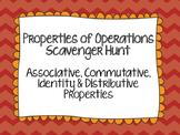 Properties of Operations Scavenger Hunt