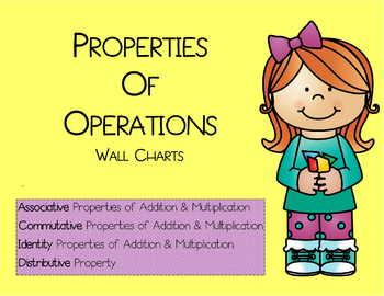Properties of Operations Wall Charts