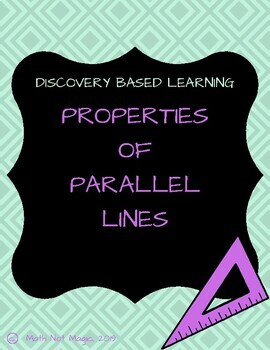 Properties of Parallel lines through Discovery!