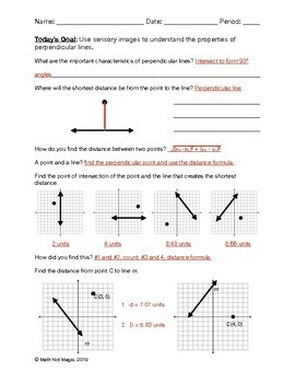 Properties of Perpendicular Lines through Discovery!