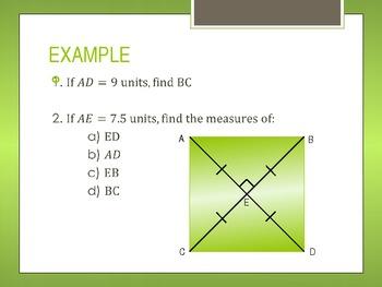 Properties of Quadrilaterals PowerPoint