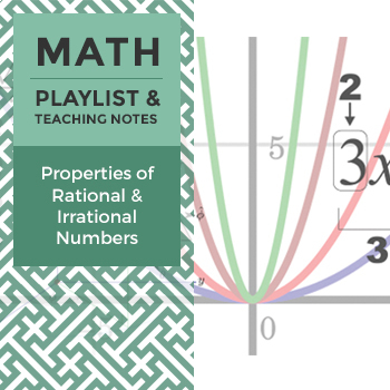 Properties of Rational and Irrational Numbers - Playlist a