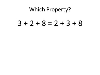 Properties of Real Numbers Review