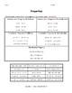 Properties of Real Numbers (Bundle)