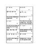 Properties of Real Numbers Card Sort