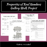 Properties of Real Numbers Gallery Walk Project
