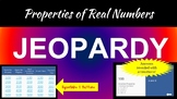 Properties of Real Numbers Jeopardy