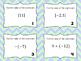 Properties of Real Numbers Task Cards