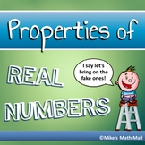 Properties of Real Numbers Mini Bundle