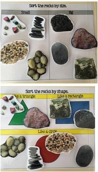 Properties of Rocks Sort Center