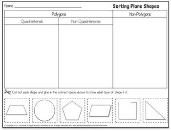 Properties of Shapes Activities