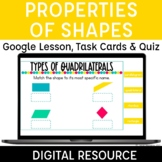 Properties of Shapes Classifying Quadrilaterals Digital Distance Learning 3.G.1