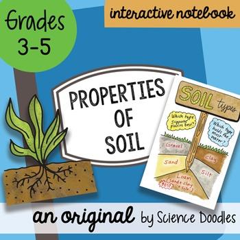 Properties of Soil Science Doodles Interactive Notebook Bundle
