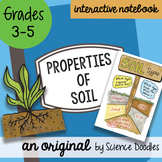 Science Doodle - Properties of Soil Science Doodles Interactive Notebook Bundle