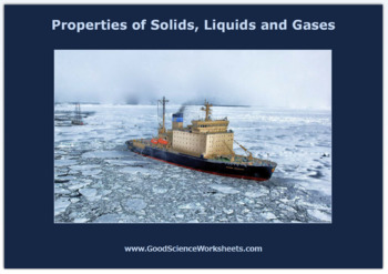 Properties of Solids, Liquids and Gases [Worksheet – Inter