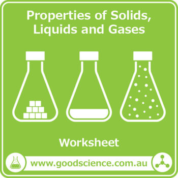 properties of solids liquids and gases worksheet by good science worksheets. Black Bedroom Furniture Sets. Home Design Ideas