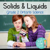 Properties of Solids and Liquids : Ontario Grade 2 Science