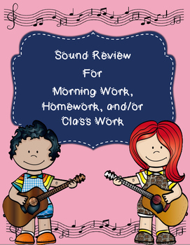 Properties of Sound Review for Morning Work, Homework, and Class Work
