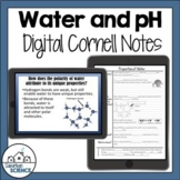 Properties of Water - Acids and Bases - pH Notes for Distance Learning
