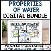 Properties of Water Digital Bundle - Great for Distance Learning