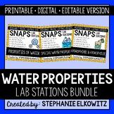 Water Properties Lab Stations Bundle