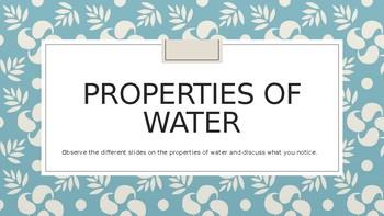 Properties of Water Powerpoint
