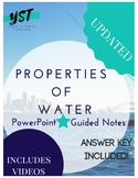 Properties of Water Powerpoint & Guided Notes Bundle