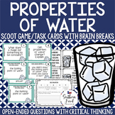 Properties of Water Scoot Game/Task Cards