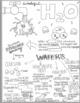 Properties of Water Sketch Doodle Notes