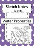 Properties of Water Sketch Notes W/Teacher's Guide & Stude