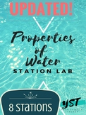 Updated! Properties of Water Station Lab (Quiz Included!)