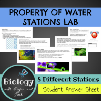 what are the 5 properties of water