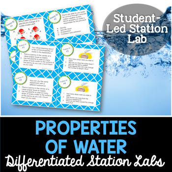 Properties of Water Student-Led Station Lab