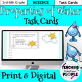 Properties of Water Task Cards 4th Grade