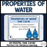Properties of Water Task Cards Digital
