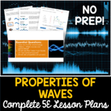 Properties of Waves Complete 5E Lesson Plan - Distance Learning