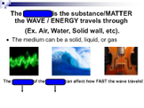 Properties of Waves Smart Notebook Lesson