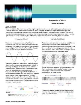 Properties of Waves: Wave Behavior Part II