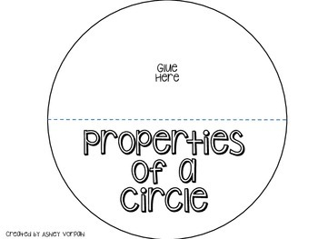 Properties of a Circle Foldable