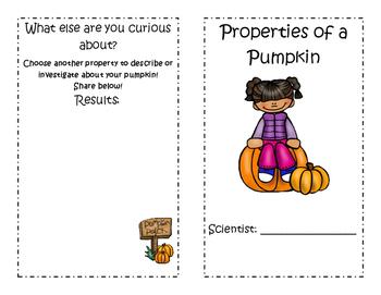 Properties of a Pumpkin
