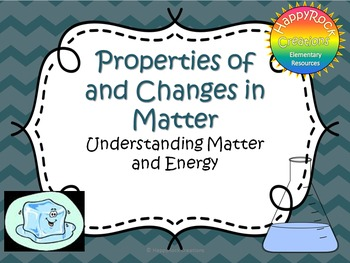 Properties of and Changes in Matter Task Cards