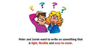 Properties of paper PowerPoint