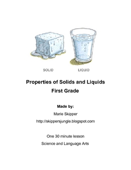 Properties of solids and liquids