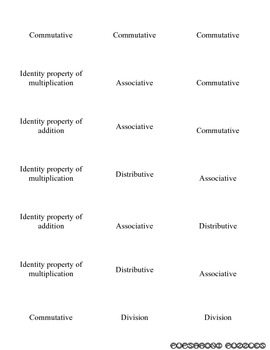 Property Flash Cards - PP