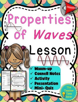 Property of Waves (Presentation, Notes, and Activity)