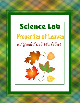 Properties of Leaves {Hands-on Lab}