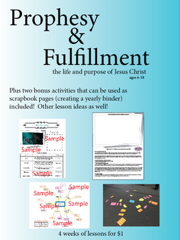 Prophesy and Fulfillment - Children's Church and Youth Group Activity