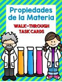 Propiedades de la Materia- Task Cards
